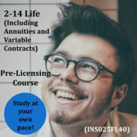 Florida: 40 hour -  2-14 Life & Variable Annuity-Only Pre-Licensing Course